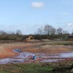 Main excavation
