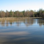 Main pond constructed 2009