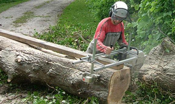 Alaskan Chain-saw mill
